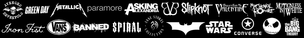 bands and brands from grindstore