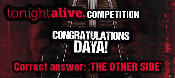 Tonight ALive Competition Winner - Daya