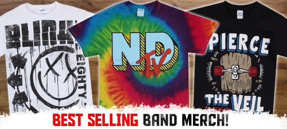Best Selling Band Merch