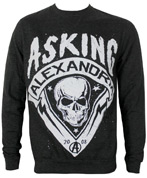 Asking Alexandria Skull Shield Men's Sweatshirt