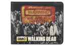 The Walking Dead Warning! We Are All Infected Wallet