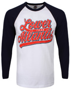 Lower Than Atlantis Logo Men's Baseball T-Shirt