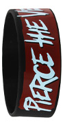 Pierce The Veil Faces Wristband