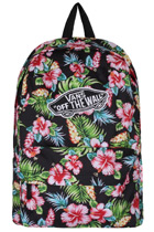 Vans Hawaiian Black Realm Backpack