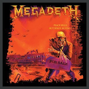 Megadeth patch peace sells import offical band merch for Where sells wallpaper