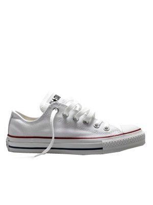 white converse low top