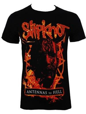 Slipknot Antennas To Hell Men's Black T-Shirt - Buy Online ...