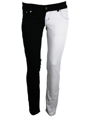 black and white skinny jeans | Gommap Blog