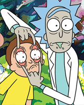 Win Rick and Morty merch from Grindstore!