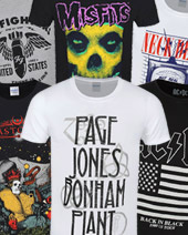 Win A Band Tee Of Your Choice