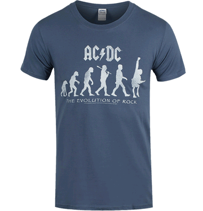 AC/DC Evolution Of Rock T-Shirt