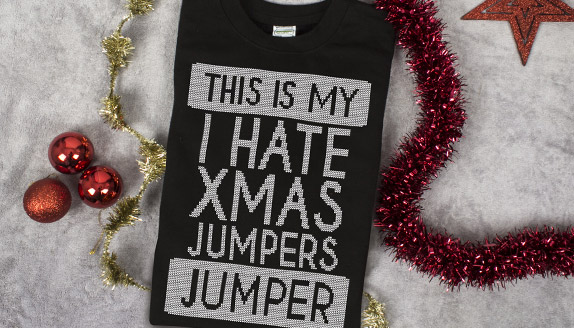This Is My I Hate Xmas Jumpers Christmas Jumper