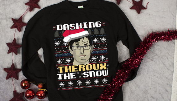 Dashing Theroux The Snow Men's Christmas Jumper