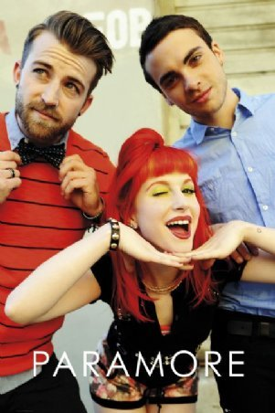 Paramore - Hayley, Jeremy and Taylor Band Portrait Poster ... Paramore Mersch Nederland