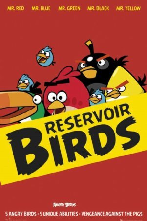 Angry Birds Poster Reservoir Birds Buy Online At