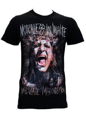 Motionless In White Immaculate Misconception Men S Black T