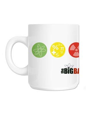 Official The Big Bang Theory Symbol Mug Buy Online At Grindstore
