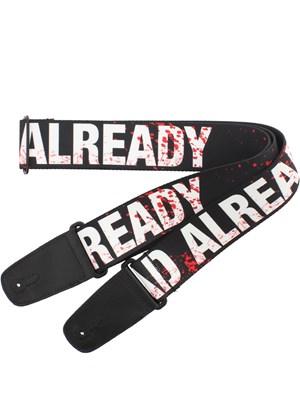 The Walking Dead Dead Already Guitar Strap Buy Online At