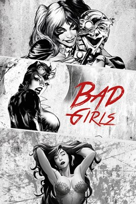 Dc Comics Bad Girls Triptych Poster Buy Online At
