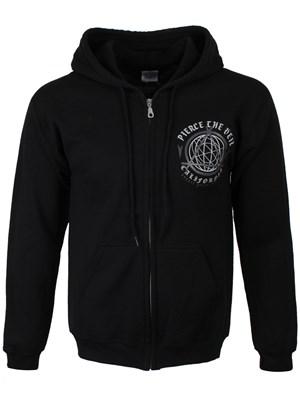 47f1c2b60d Pierce The Veil Youth Rising Mens Black Zip Up Hoodie - Buy Online at  Grindstore.com