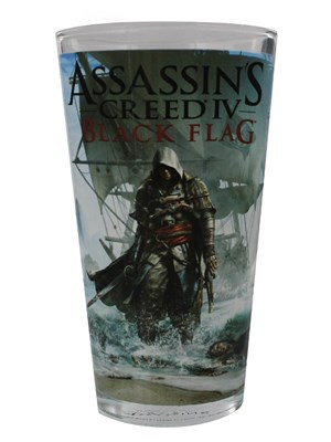 Assassin S Creed Black Flag Drinking Glass Buy Online At