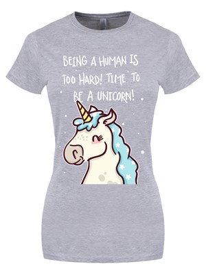 Being human is hard ladies grey t shirt buy online at for Buy being human t shirts online