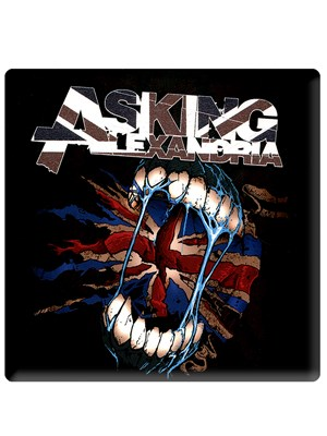 Asking Alexandria Flag Eater Fridge Magnet Buy Online At