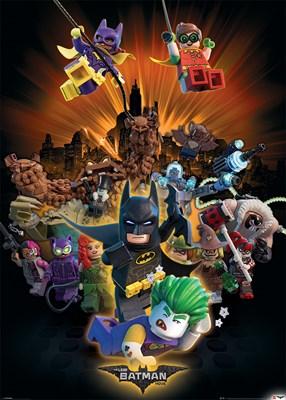 Lego 174 Batman Boom Giant Poster Buy Online At Grindstore Com