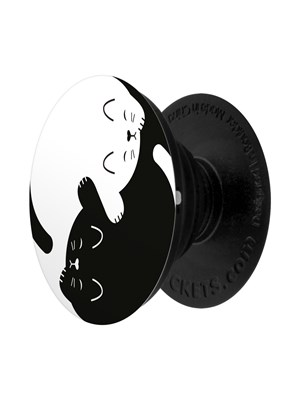 Popsockets Yin Yang Kitten Phone Stand And Grip Buy
