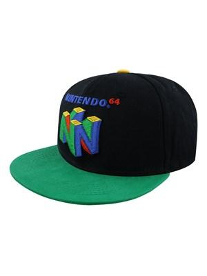 Nintendo N64 Logo Snapback Cap Buy Online At Grindstore Com