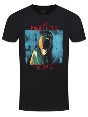 042932af8d9 Pink Floyd The Wall Scream Men s Black T-shirt - Buy Online at  Grindstore.com